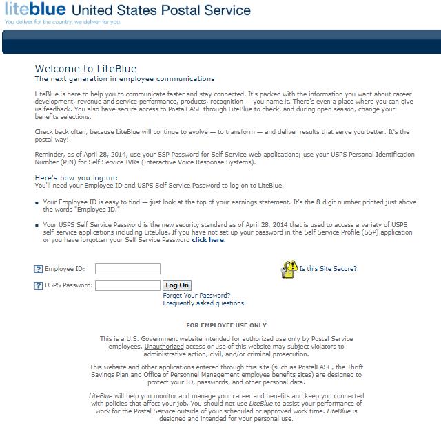 Contact - LiteBlue
